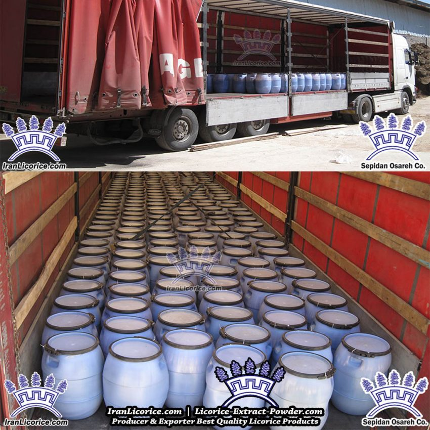 Export Licorice Extract Liquid Paste